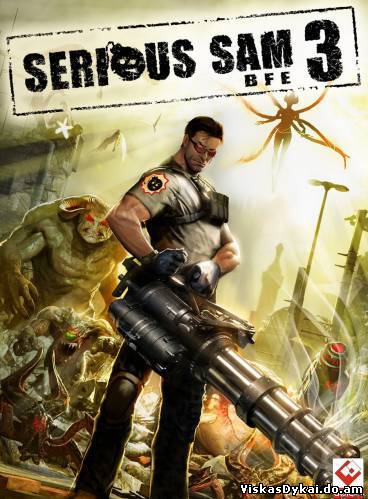 Filmas Serious Sam 3:BFE (Devolver Digital) (ENG)