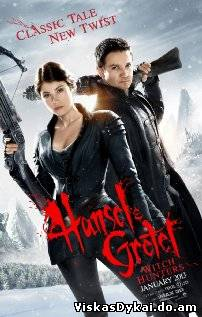Filmas Охотники на ведьм 3D / Hansel and Gretel Witch Hunters (2013) -Online