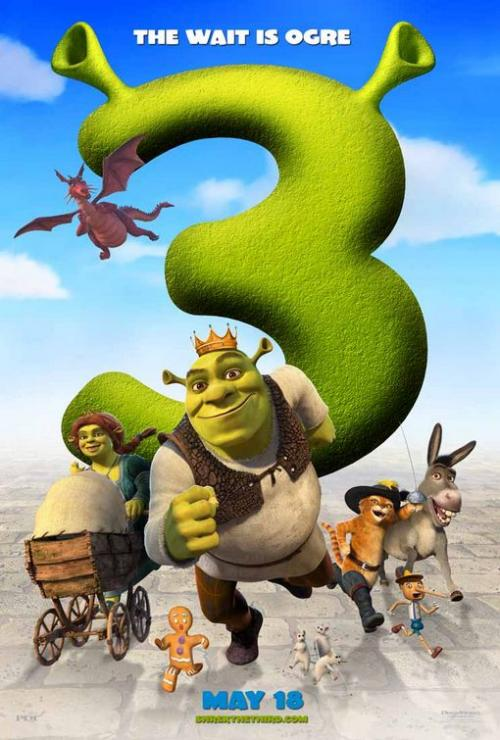 Filmas Šrekas Trečiasis / Shrek the Third (2007)