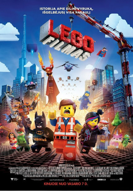 Filmas Lego filmas / The Lego Movie (2014)