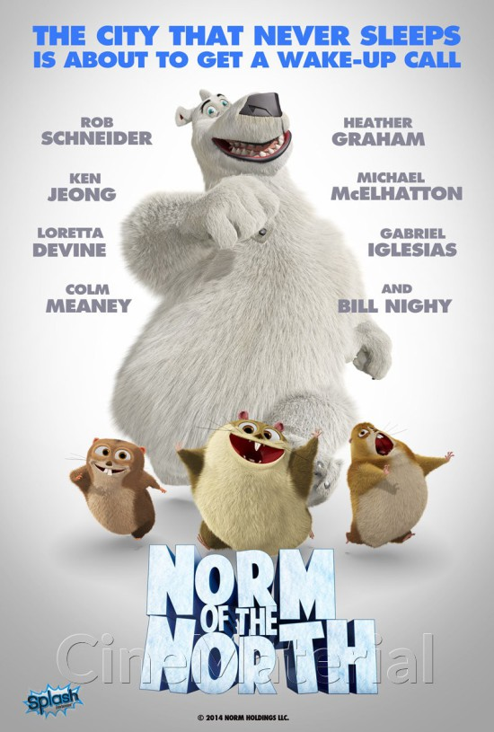 Filmas Normas, lokys iš Šiaurės / Norm Of The North (2016) online
