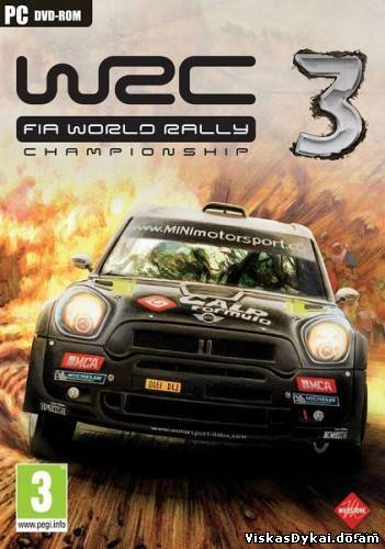WRC: FIA World Rally Championship 3 (2012) [RePack)