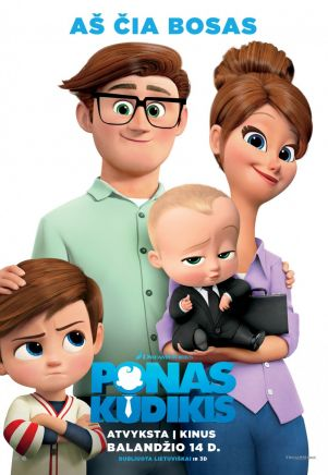 Ponas Kūdikis / The Boss Baby (2017) online