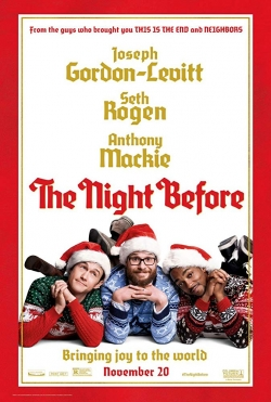 Filmas Kūčiukai, narkotikai ir seksas / The Night Before (2015) online